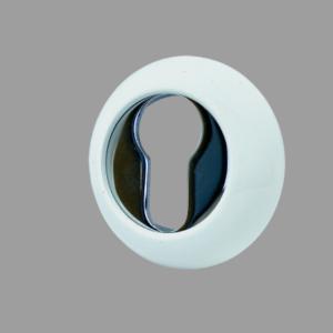 Накладка цилиндровая R02 White/CP